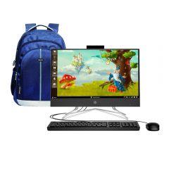 """All In One HP 22-dd0018la  21.5"""" AMD Ryzen 3 3250U 1TB 4GB RAM + Mochila para Laptop Miray MML-ENL54715-A"""
