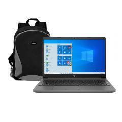 "Laptop HP 15-dw1085la 15.6"" Intel Core i3-10110U 256GB SSD 4GB DDR4 RAM + Mochila Para Laptop Miray MML-ENL25015-N"