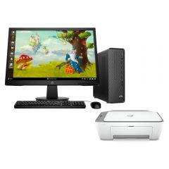 Desktop HP Slim S01-pF1004bla Intel Core i3-10100 1TB HDD 4GB RAM + Impresora Multifuncional HP DeskJet Ink Advantage 2775