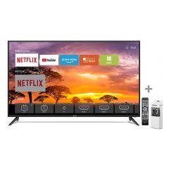 "TV Miray LED 4K UHD Smart 43"" MK43-E201 + Cable HDMI Miray CAHDMI-VC5 + Control Remoto Miray CRM-151"
