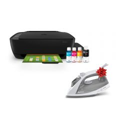 Impresora Multifuncional HP Ink Tank 315 + Plancha Miray PM-60G GRATIS