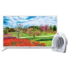 "TV Miray LED FHD Smart 43"" MS43-K500 + Estufa Termo Ventilador Miray ETM-36"
