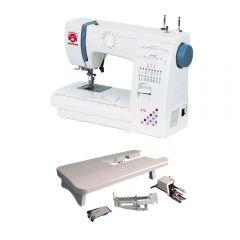 Máquina de Coser Janome 415 + Set de Accesorios para Patchwork y Acolchados Janome 303805001