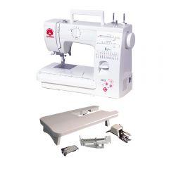 Máquina de Coser Janome 423S + Set de Accesorios para Patchwork y Acolchados Janome 303805001