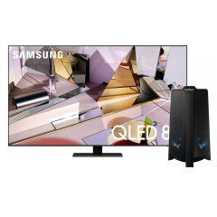 "TV Samsung QLED 8K Smart 65"" QN65Q700TAGXPE + Torre de Sonido Samsung MX-T50 500W"