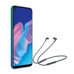 "Celular Huawei Y7P 6.39"" 64GB Aurora Blue + Audífonos Huawei CM-70L Negro"