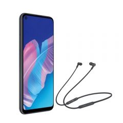 "Celular Huawei Y7P 6.39"" 64GB Black + Audífonos Huawei CM-70L Negro"