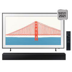 """TV Samsung QLED 4K Smart 65"""" QN65LS03A + Soundbar Samsung HW-T400/PE"""