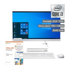 """All In One Lenovo IdeaCentre A340 23.8"""" + Office 365 Personal"""