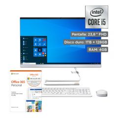 """All In One Lenovo IdeaCentre A340-24IWL 23.8"""" + Office 365 Personal"""
