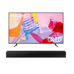 "TV Samsung QLED 4K UHD Smart 50"" QN50Q60TAGXPE + Soundbar Samsung HW-T400/PE"