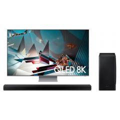 """TV Samsung QLED 8K UHD Smart 65"""" QN65Q800TAGXPE + Soundbar Samsung HW-Q800T GRATIS"""