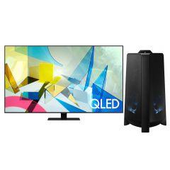 "TV Samsung QLED 4K UHD Smart 75"" QN75Q80TAGXPE + Torre de Sonido Samsung MX-T50 GRATIS"