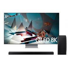 """TV Samsung QLED 8K Smart 75"""" QN75Q800TAGXPE + Soundbar Samsung HW-Q800T/PE GRATIS"""