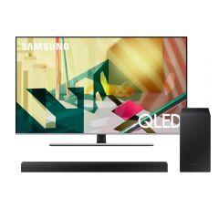 "TV Samsung QLED 4K UHD Smart 55"" QN55Q70TAGXPE + Soundbar Samsung HW-T450/PE"