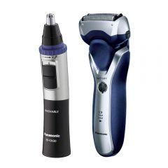 Recortadora de vello nasal Panasonic ER-GN30-K503 + Afeitadora Panasonic  ES-RT37-S503