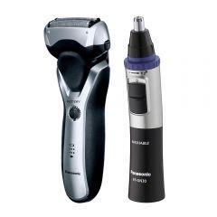 Afeitadora Panasonic  ES-RT47 + Recortadora de vello nasal Panasonic ER-GN30-K503