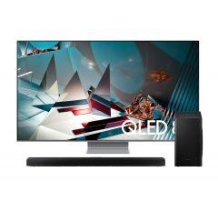 "TV Samsung QLED 8K Smart 75"" QN75Q800TAGXPE + Soundbar Samsung HW-Q60T/PE"