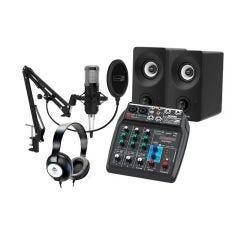 Pack de Grabación Home Studio Jammin Pro Studio Pack 2