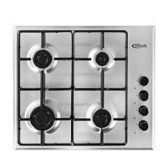Cocina Empotrable GN/GLP Klimatic CEKT600-IX 4 hornillas
