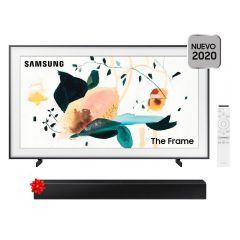 "TV Samsung The Frame QLED 4K UHD Smart 65"" F-QN65LS03T-1 + Soundbar Samsung HW-T400/PE"