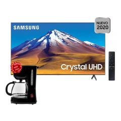 "TV Samsung LED 4K UHD Smart 50"" UN50TU6900GXPE + Cafetera Miray CM-840 GRATIS"