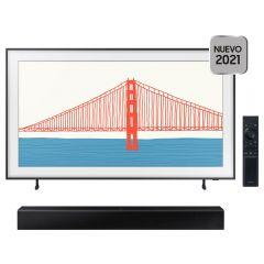 "TV Samsung The Frame QLED 4K Smart 55"" QN55LS03A + Soundbar Samsung HW-T400/PE"