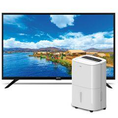 "Deshumedecedor Miray DM-309 + TV Miray LED HD 32"" ME32-T100"