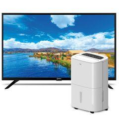 "Deshumedecedor Miray DM-520 + TV Miray LED HD 32"" ME32-T100"