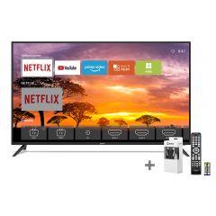 "TV Miray LED 4K UHD Smart 43"" MK43-E201 + Cable HDMI Miray CAHDMI-VC3 + Control Remoto Miray CRM-151"