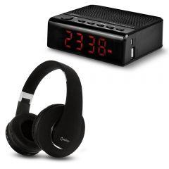 Audífonos Miray AM-8677B-N + Parlante Miray PMBT-36N