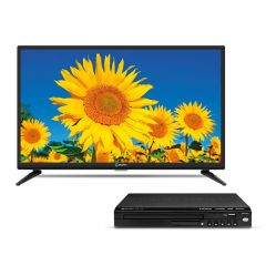 "TV Miray LED HD 24"" ME24-T101 + Reproductor DVD Miray DVM-L125"