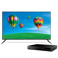 "TV Miray 4K LED Smart 50"" MK50-E200 + Reproductor Blu-ray Miray BLM-BD311"