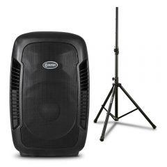 Parlante Amplificador Miray PAM-111 + Soporte Para Parlante Miray SPM-02
