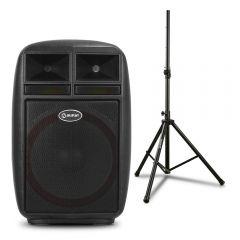 Parlante Amplificador Miray PAM-112 + Soporte Para Parlante Miray SPM-02
