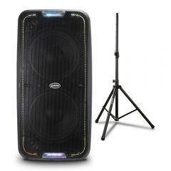 Parlante Amplificador Miray PAM-113 + Soporte Para Parlante Miray SPM-02