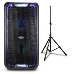 Parlante Amplificador Miray PAM-117 + Soporte Para Parlante Miray SPM-02