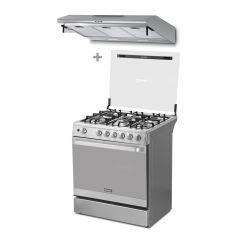 Cocina a GLP Miray GLADIOLO 5 hornillas + Campana Extractora Miray CEM-92