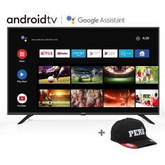 "TV Miray LED 4K UHD Smart 50"" MK50-T1000BT + Gorra"