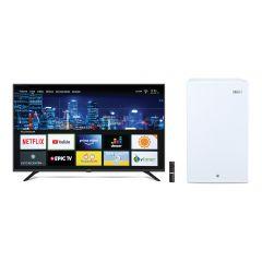 "TV Miray LED Smart 4K 55"" MK55-T103 + Frigobar Miray RM-94 Frost 90L"