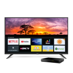"""TV Miray LED Smart FHD 42"""" MS42-T100 + Reproductor Blu-ray Miray BLM-BD311"""