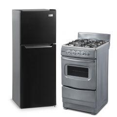 Refrigeradora Miray RM-138H Eurofrío 138L + Cocina GLP Miray CMS-20C 4 Hornillas