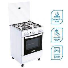 Cocina GLP Coldex CX650 4 hornillas