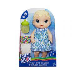 Muñeca Lil Sips Baby Alive Rubia - Bebé Sorbitos