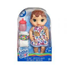 Muñeca Lil Sips Baby Alive Castaña - Bebé Sorbitos