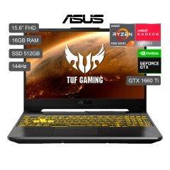 "Laptop Gamer Asus TUF A15 15.6"" FX506IU AMD Ryzen 7 4800H 512GB SSD 16GB RAM"