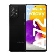 """Celular Libre Samsung A72 6.7"""" 128GB Negro"""