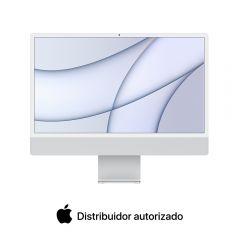 """iMac 24"""" 4.5K M1 512GB SSD 8GB RAM Plata"""
