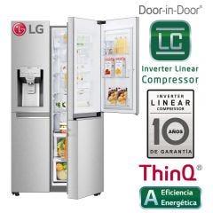 Refrigeradora LG Side by Side LS74SDN No frost 689L