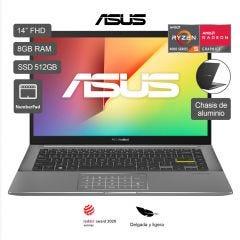 "Laptop Asus Vivobook M433IA-EB181TS 14"" AMD Ryzen 5 4500U 512GB SSD 8GB RAM"